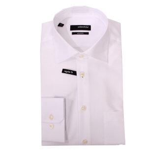 Seidensticker  - Seidensticker - 003000 | Modern Fit Skjorte Hvid