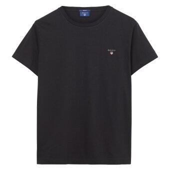 Gant - Gant - The Original Solid | T-shirt Sort