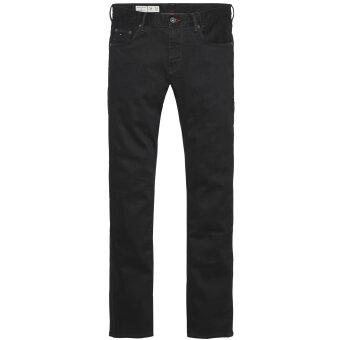 Tommy Hilfiger  - Tommy Hilfiger - Denton Clean Black | Straight Fit Jeans Sort