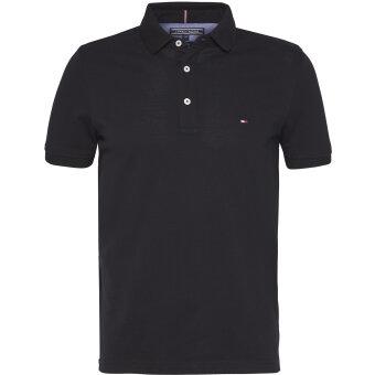 Tommy Hilfiger  - Tommy Hilfiger - Core Modern Regular | Polo T-shirt Sort