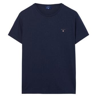 Gant - Gant - The Original Solid | T-shirt evening blue