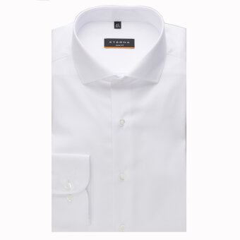 Eterna - Eterna - Cover Shirt S | Slim fit Hvid