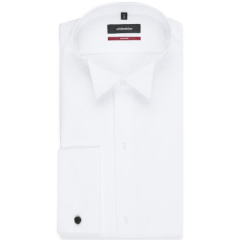 Seidensticker  - Seidensticker - Kjoleskjorte | Hvid