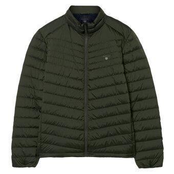 Gant - Gant - Airlight Down Jacket   Vindjakke Moss Green