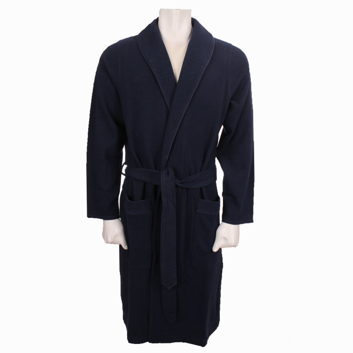 Hugo Boss - Hugo Boss - Heritage Gown   Badekåbe Blue