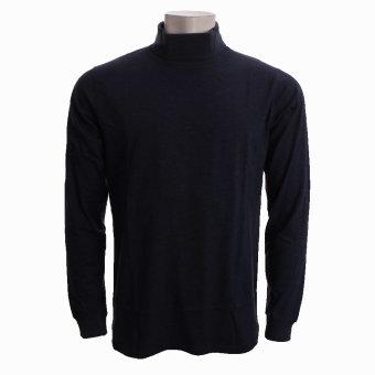 Signal - Signal - Oswald Single   Rullekrave T-shirt Blåmeleret