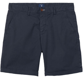 Gant - Gant - Regular Sunbleached | Shorts Marine