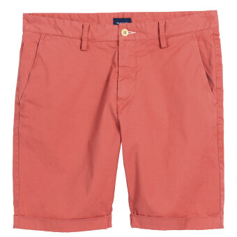 Gant - Gant - Regular Sunbleached | Shorts Mineral Red