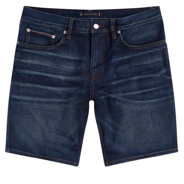 Tommy Hilfiger  - Tommy Hilfiger - Brooklyn Denim   Shorts Reno Blue