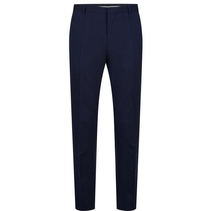Calvin Klein  - Calvin Klein - Slim Wool Stretch   Habit Buks Ink Blue