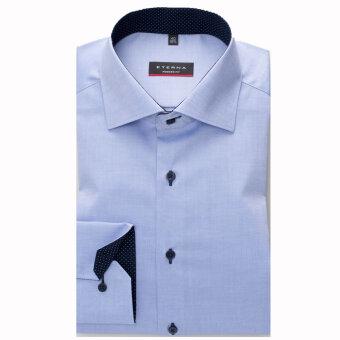 Eterna - Eterna -  Modern Fit | Skjorte Blå 8100 X13K
