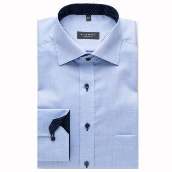 Eterna - Eterna - Comfort Fit | Skjorte Blå 8100 e137