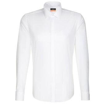 Seidensticker  - Seidensticker - 675674 | Slim fit Dobbelt Manchet Skjorte