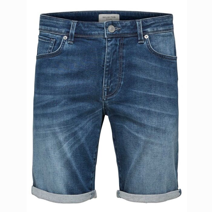 Selected - Selected - Slhlucas | Shorts dark blue denim