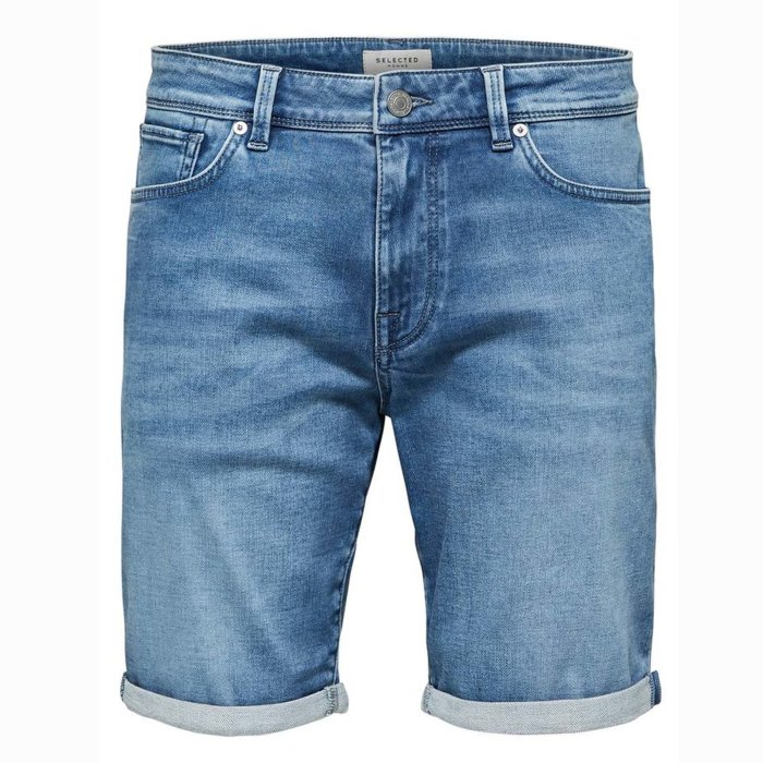 Selected - Selected - Lucas | Shorts Light Blue