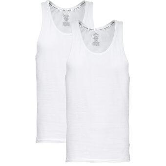 Calvin Klein  - Calvin Klein - Tanktop 2-pack   Hvid