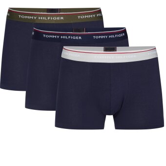Tommy Hilfiger  - Tommy Hilfiger - 3 Pack Stretch Trunks | Tights 0UP