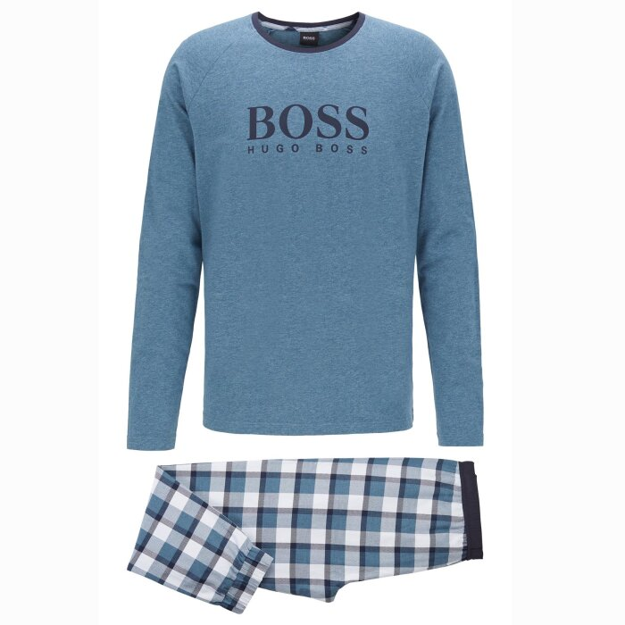 Hugo Boss - Hugo Boss - Gift Boxed Pyjamas | Medium Blue