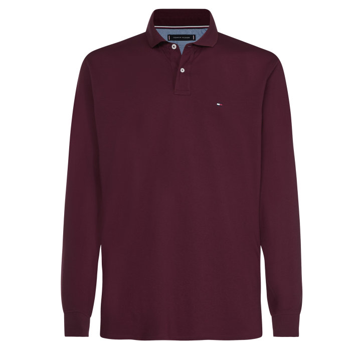 Tommy Hilfiger  - Tommy Hilfiger - Long Sleeve Polo   Polo T-shirt Port