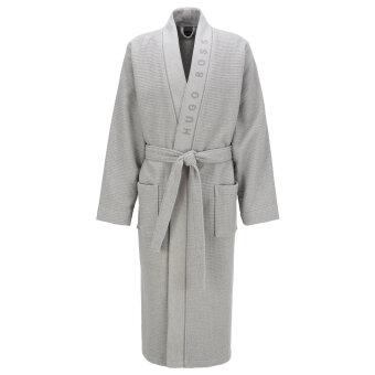 Hugo Boss - Hugo Boss - Waffle Structured Dressing Gown | Badekåbe Grå