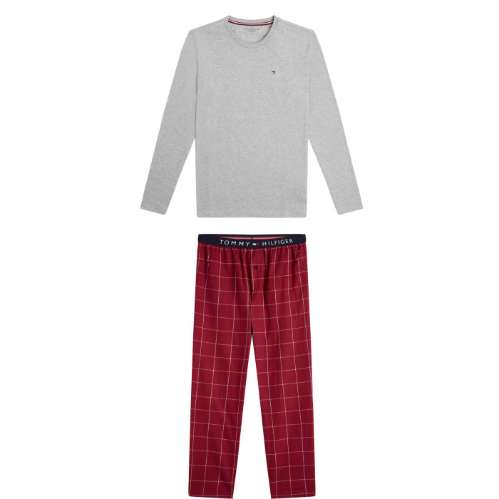Tommy Hilfiger  - Tommy Hilfiger - Pyjamas | Grey Heather
