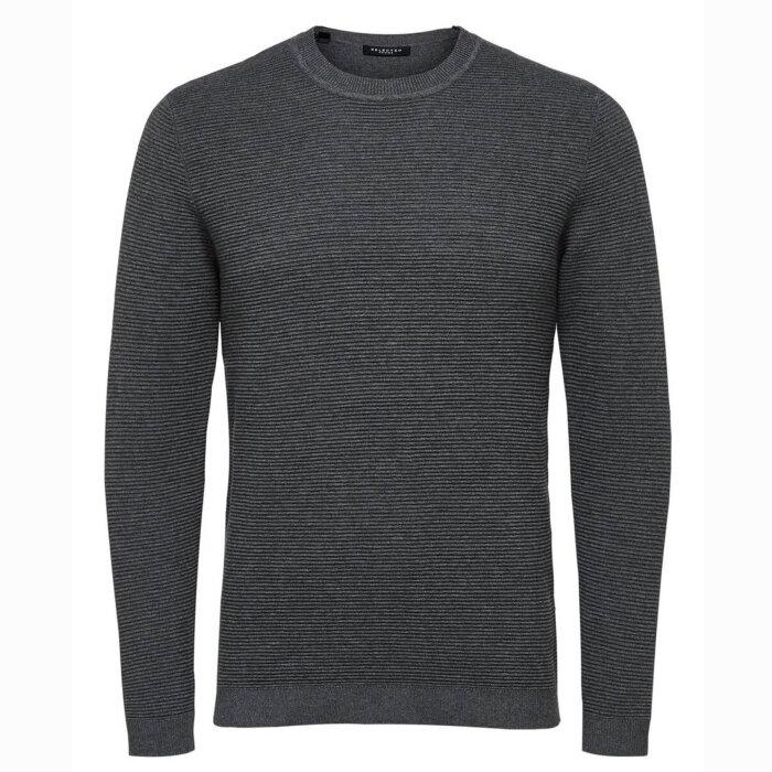 Selected - Selected - Sweatshirt | Medium Grey Mel