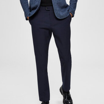 Selected - Selected - Carlo Flex Pants | Slim Pants Navy Blazer