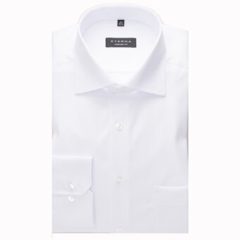 Eterna - Eterna - Cover Shirt C | Comfort Fit 8817 00 Hvid