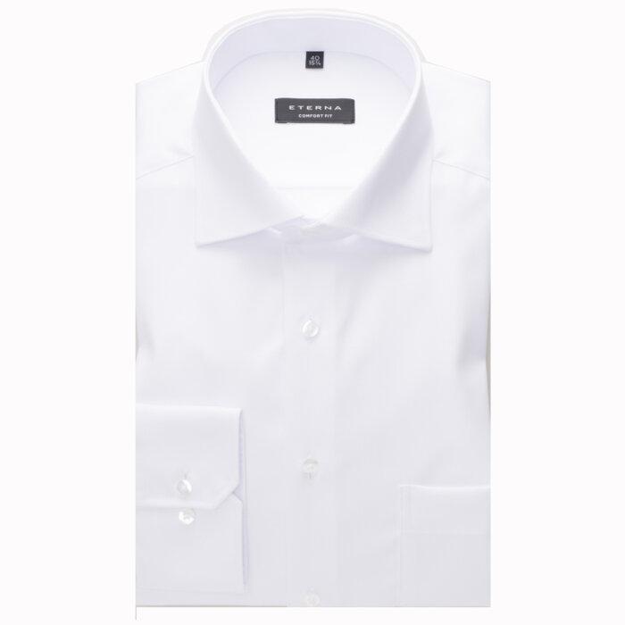 Eterna - Eterna - Cover Shirt C   Comfort Fit 8817 00 Hvid