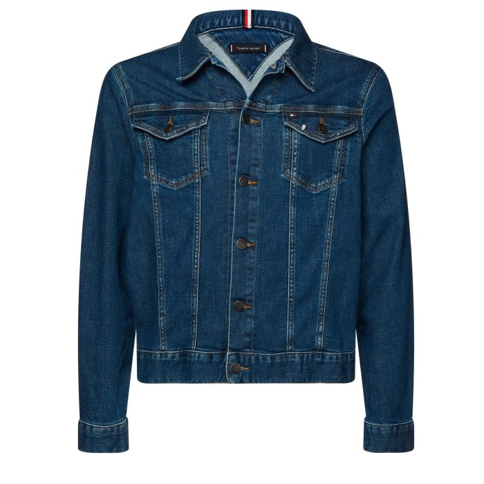 Tommy Hilfiger  - Tommy Hilfiger - Denim Trucker Jacket | East Blue