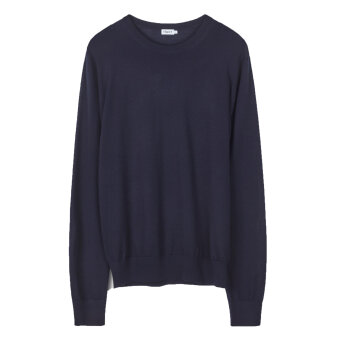 Filippa K - Filippa K - O-Neck | Strik Navy