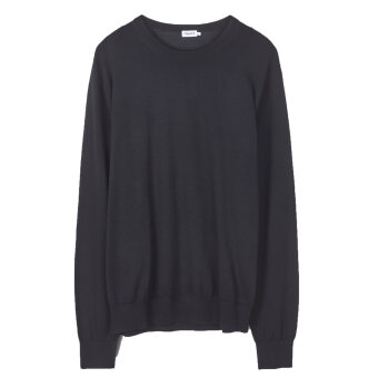 Filippa K - Filippa K - O-Neck | Strik Sort