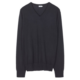 Filippa K - Filippa K - V-Neck | Strik Sort