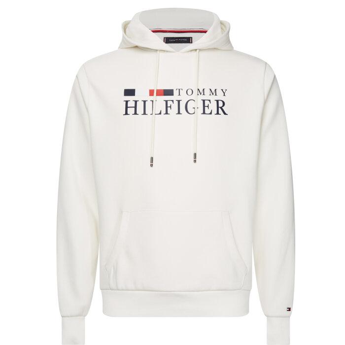 Tommy Hilfiger  - Tommy Hilfiger - Flex Fleece Hoody | Sweatshirt Ecru