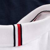 Tommy Hilfiger  - Tommy Hilfiger - Colour Blocked Slim Fit | Polo T-shirt White