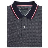 Tommy Hilfiger  - Tommy Hilfiger - Micro Print | Polo T-shirt White