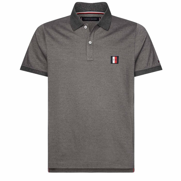 Tommy Hilfiger  - Tommy Hilfiger - polo t-shirt | Nickel grey