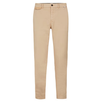 Calvin Klein  - Calvin Klein - Slim Stretch Twill | Chino Travertine