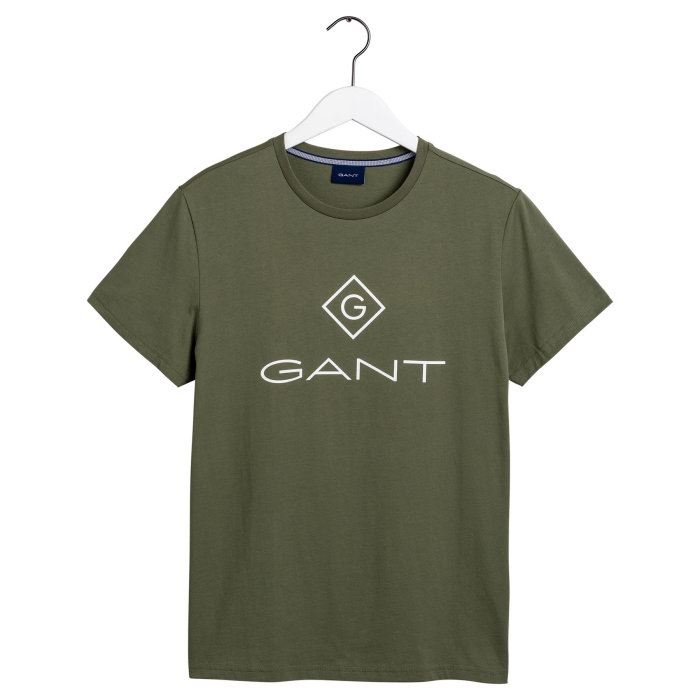 Gant - Gant - Logo | T-shirt Four Leaf Green