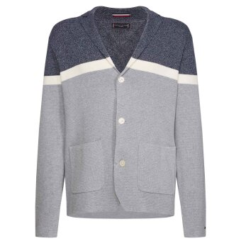 Tommy Hilfiger  - Tommy Hilfiger - Colour Blocked | Cardigan Iriscope