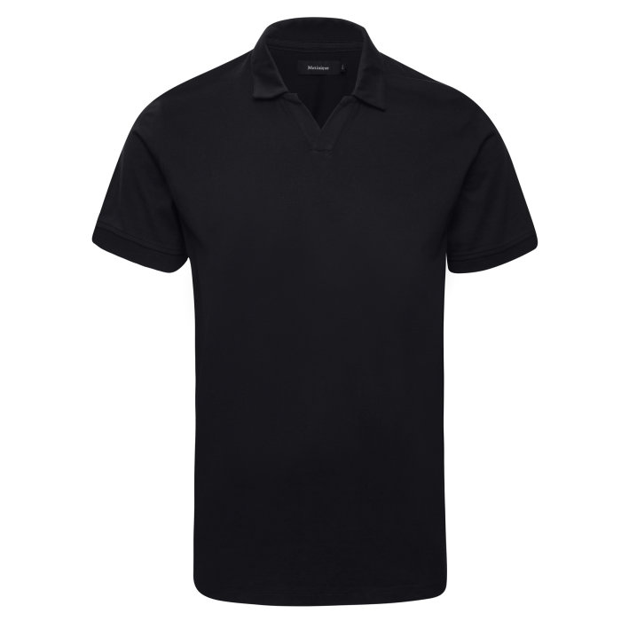 Matinique - Matinique - Gamon | Polo T-shirt Black