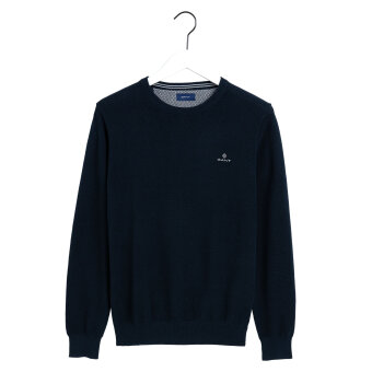 Gant - Gant - Pique Crew | Strik Evening blue