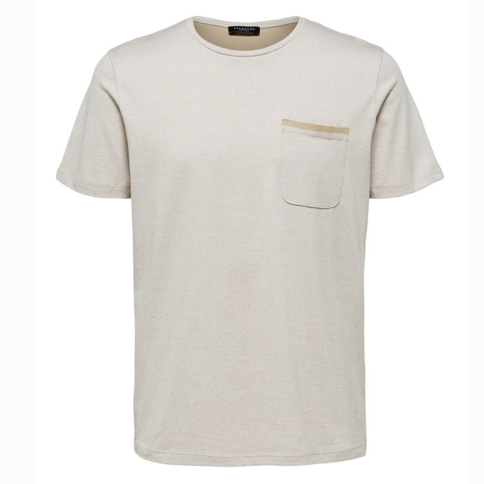 Selected - Selected - Dover SS | T-shirt Crockery
