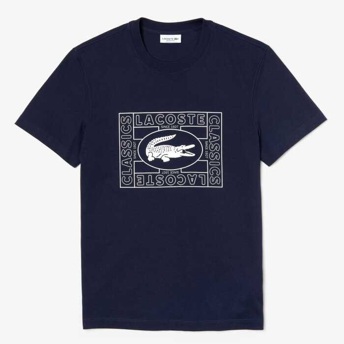 Lacoste - Lacoste - TH5097 | T-shirt 166 Marine