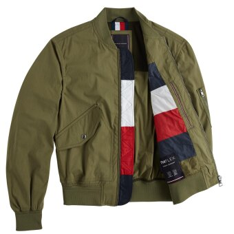 Tommy Hilfiger  - Tommy Hilfiger - TH Flex Lightweight Bomber Jacket | Vindjakke