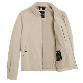 Tommy Hilfiger  - Tommy Hilfiger - TH Flex Lightweight Jacket | Vindjakke Light Stone