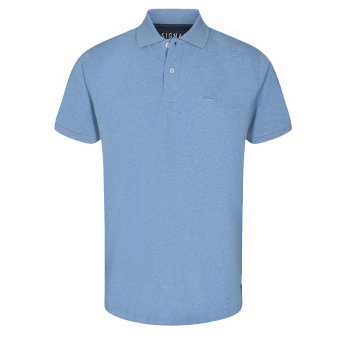 Signal - Signal - Nicky BCI | Polo T-shirt Clear Blue Melange