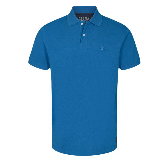 Signal - Signal - Nicky BCI | Polo T-shirt Strong Blue Melange