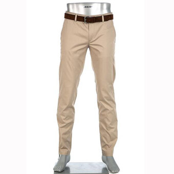 Alberto - Alberto - Lou Premium Business | Chino 1909 535 Brown Melange