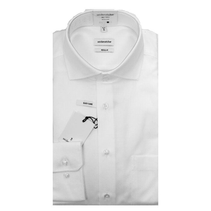Seidensticker  - Seidensticker - 194657 | Regular fit Skjorte Hvid